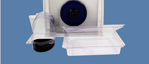 Packaging Products made from high impact polystyrene thermoforming